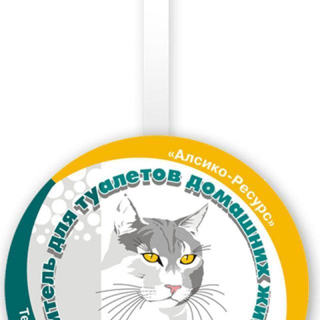"""Маркиз - дизайн P.O.S. материалов для наполнителей """"кошачьих"""" туалетов"""
